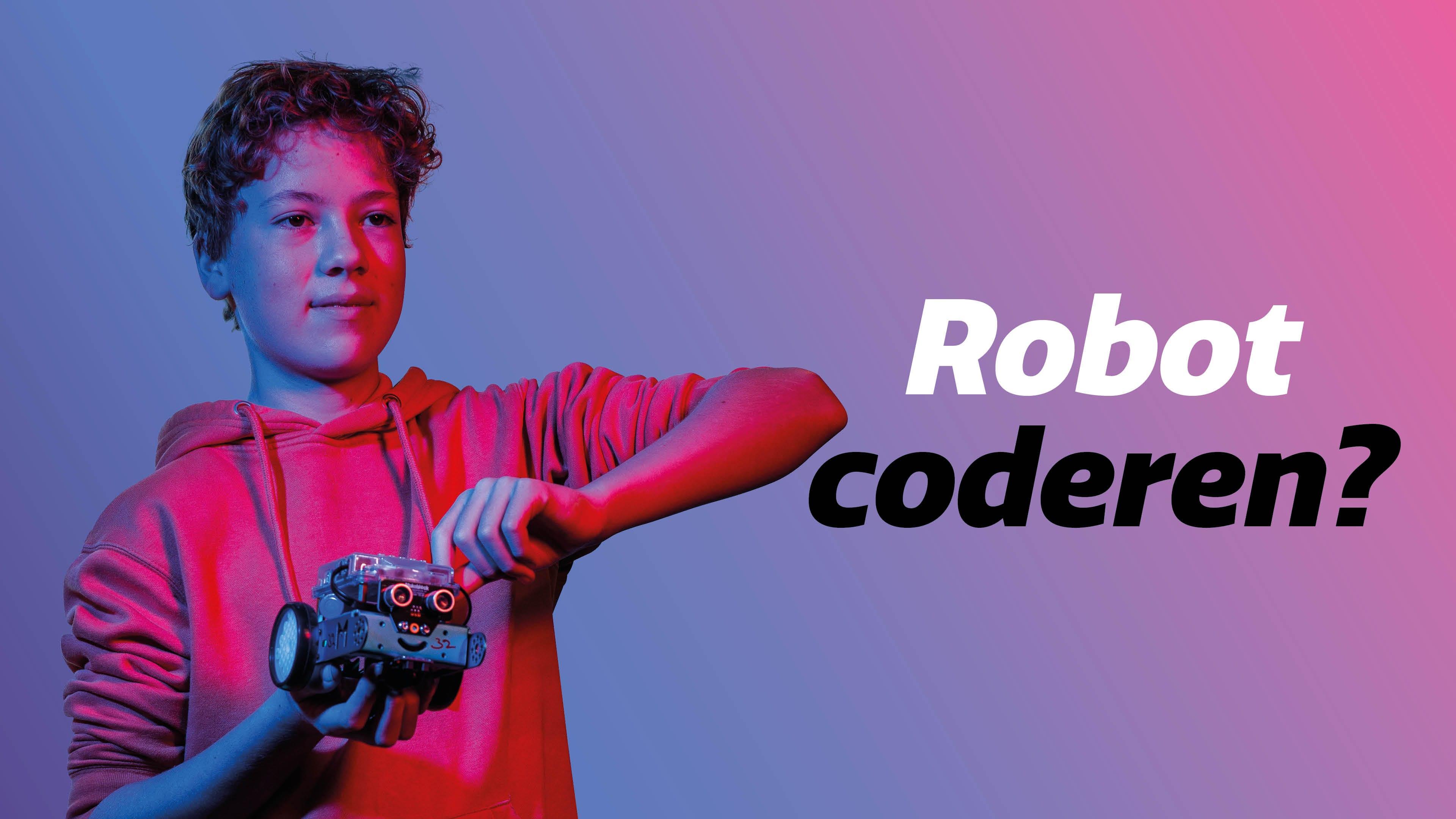 Feye en Timo – Robot coderen