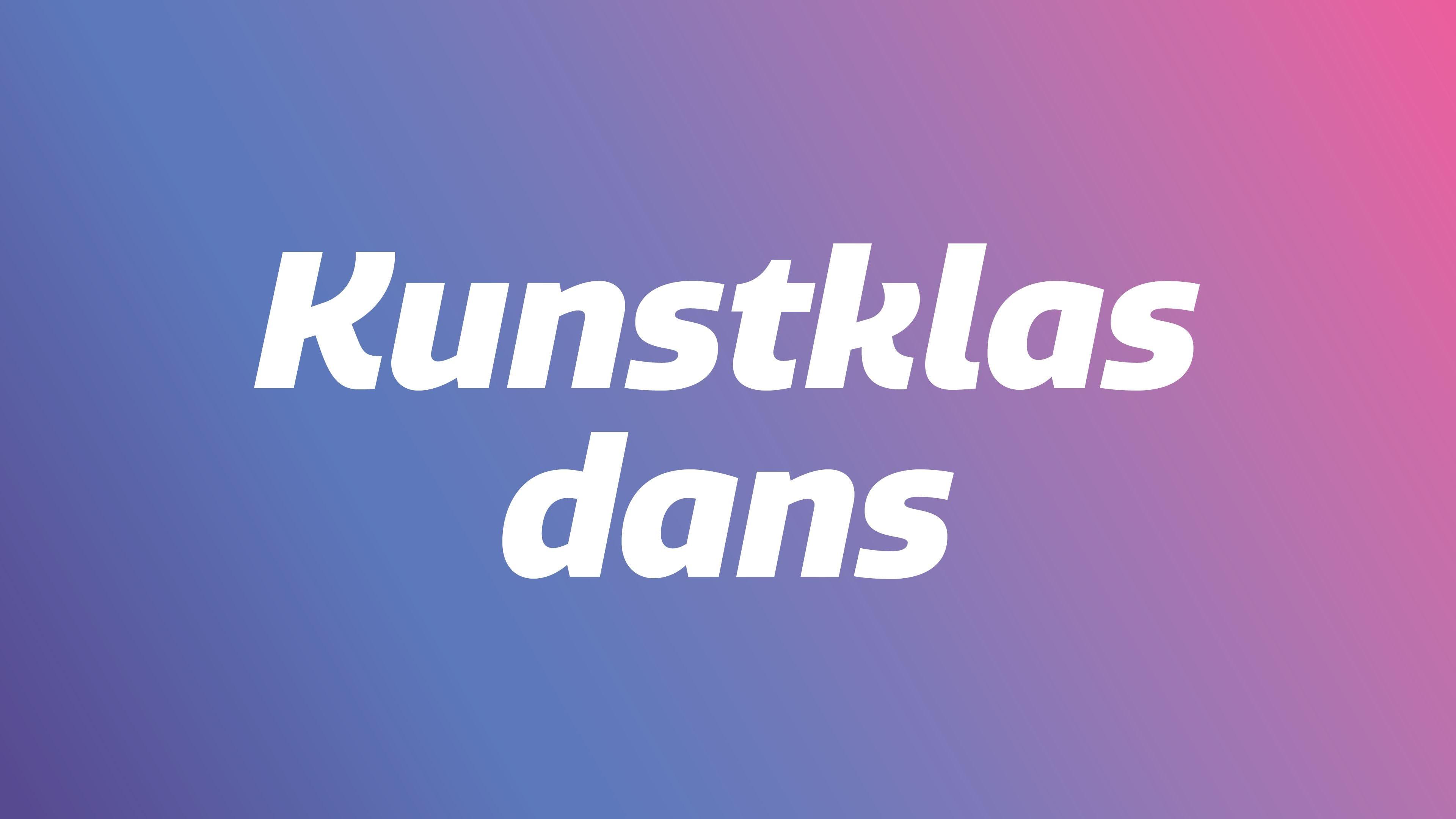 Kunstklas dans